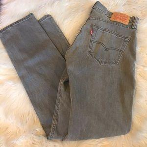 Men's Levis 511 grey jeans
